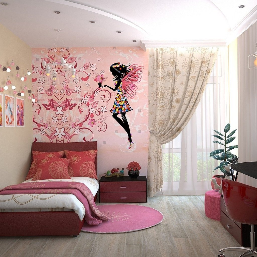 Top Girls Room Curtain Ideas