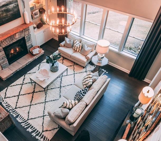 Charming & Rustic Curtain Ideas