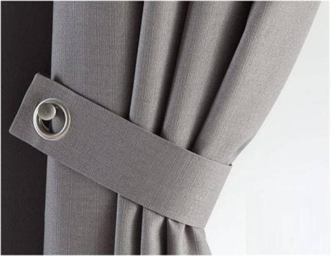 Snazz tie backs grey
